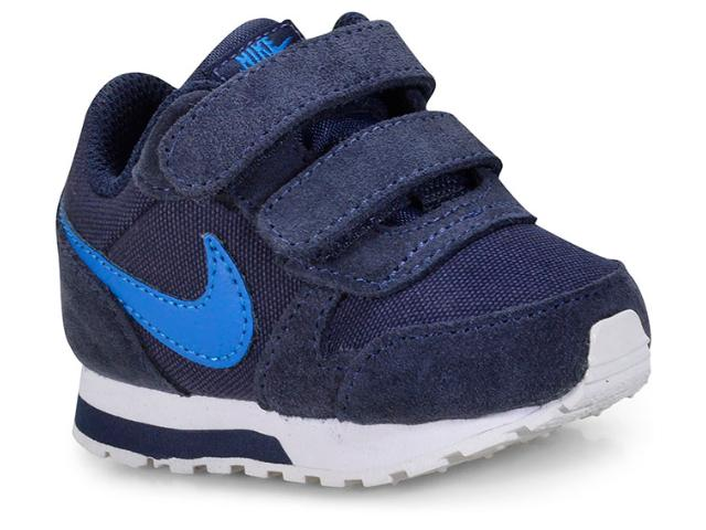 Tênis Masc Infantil Nike 806255-410 md Runner 2 Marinho/branco