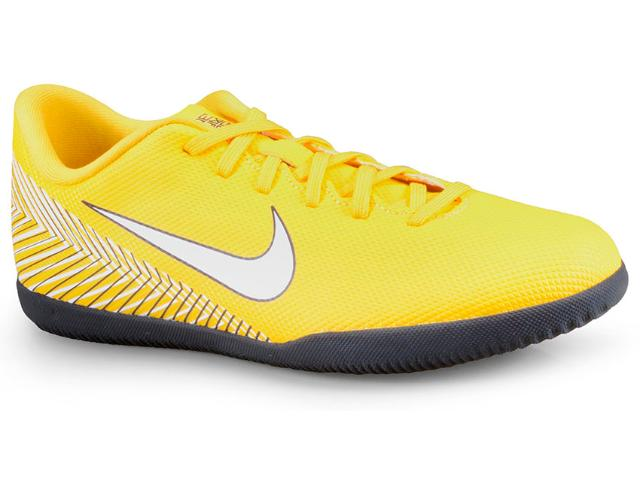 Tênis Masculino Nike Ao3120-710 Neymar Vaporx 12 Club ic Amarelo/branco