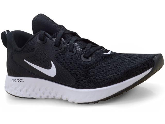 Tênis Masculino Nike Aa1625-001 Legend React Preto/branco