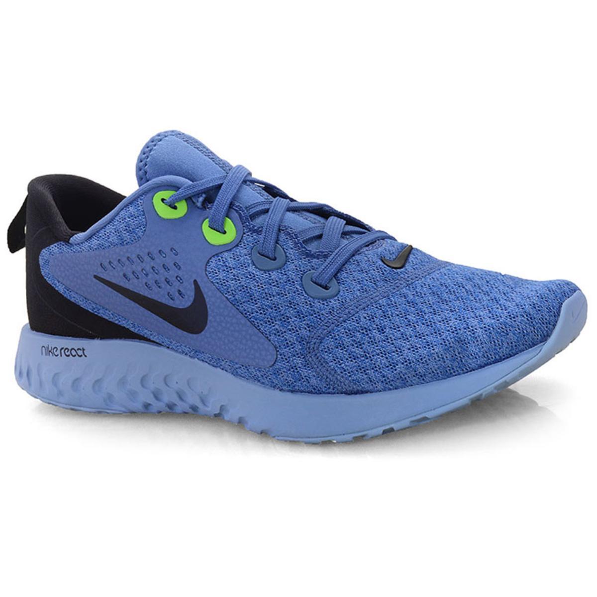 Tênis Masculino Nike Aa1625-406 Legend React Azul/preto