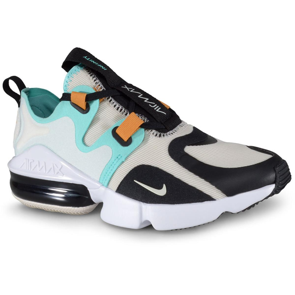 Tênis Feminino Nike Bq4284-002 Wmns Air Max Infinity Bege/verde