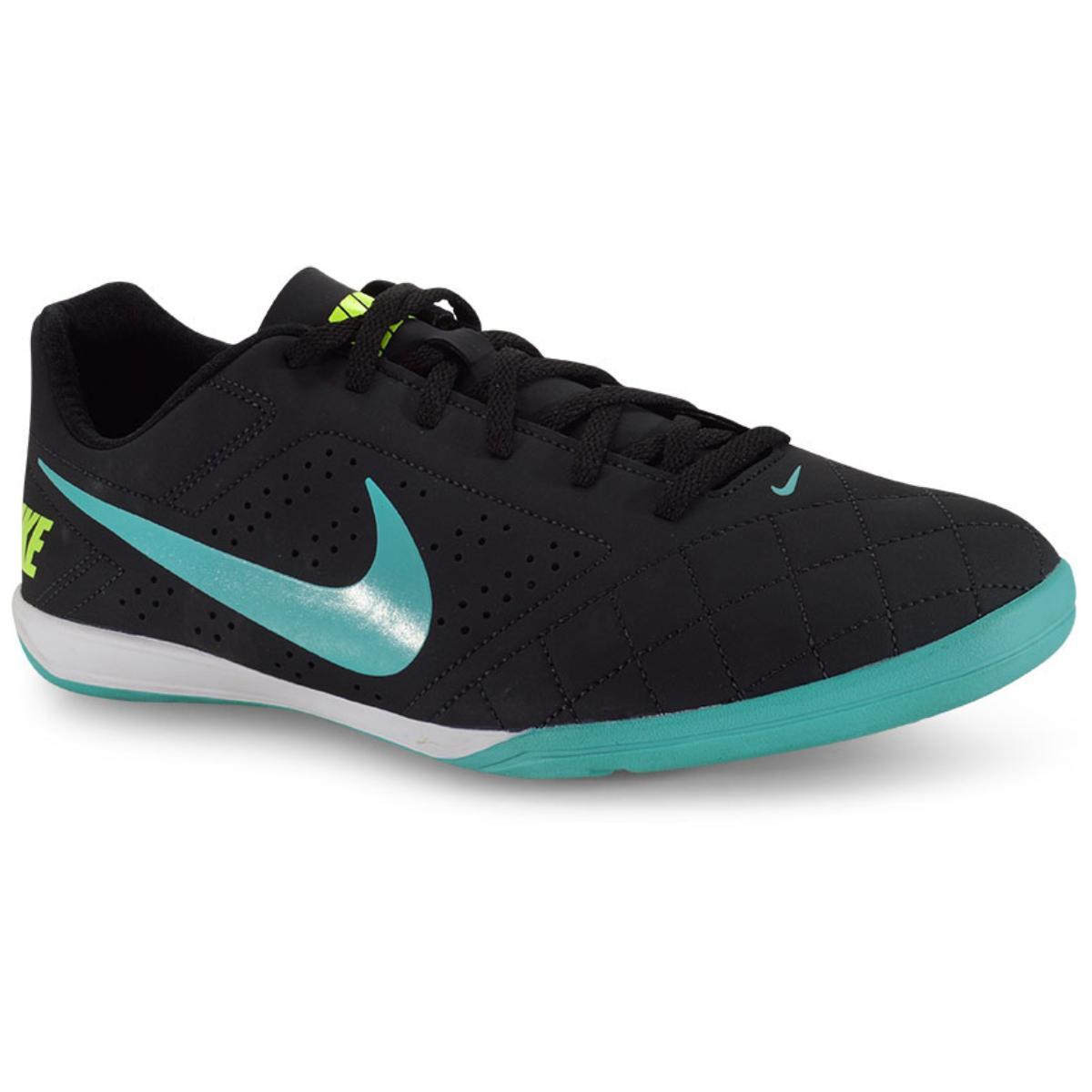 Tênis Masculino Nike 646433-002 Beco 2 Preto/turquesa