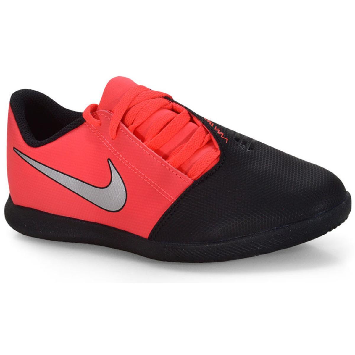 Tênis Masc Infantil Nike Ao0399-606 jr Phantom Venom Club ic Preto/vermelho