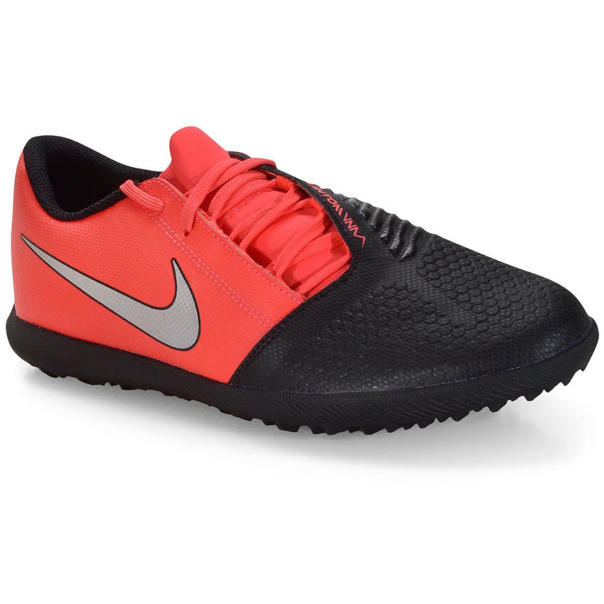 Tênis Masculino Nike Ao0579-606 Phantomvnm Club tf Preto/vermelho