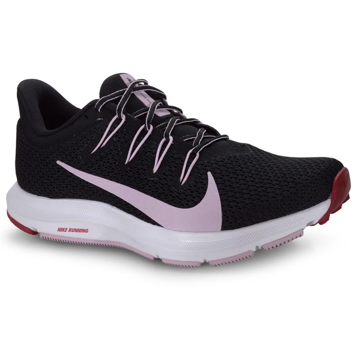 Tênis Feminino Nike Ci3803-006 Quest 2 Preto/lilas