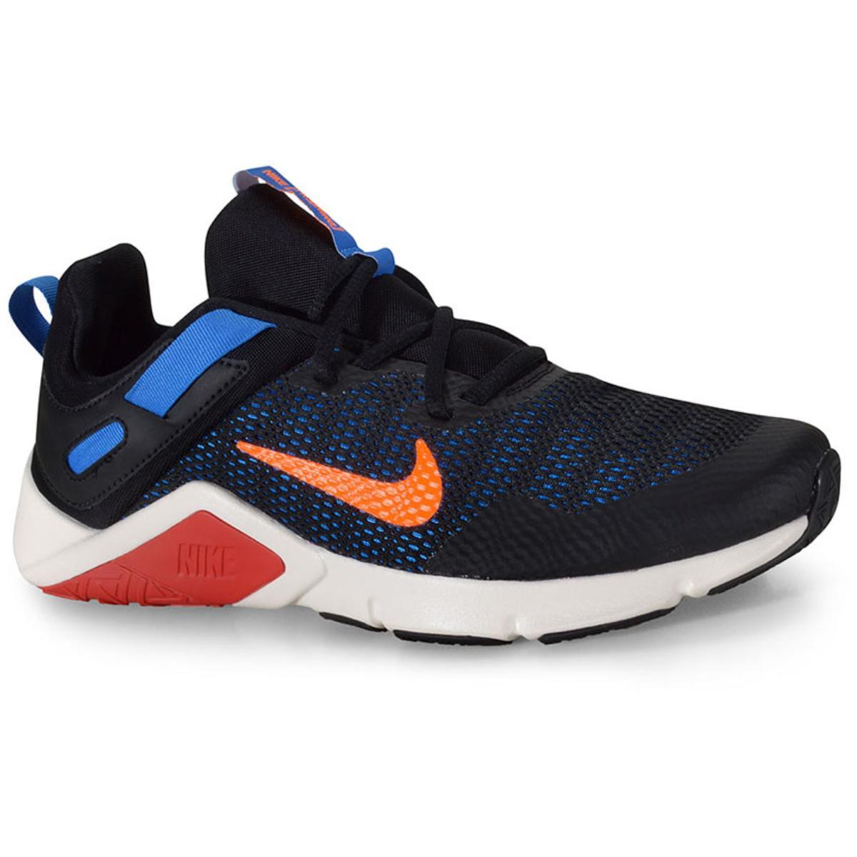 Tênis Masculino Nike Cd0443-003 Legend Essential Preto/azul