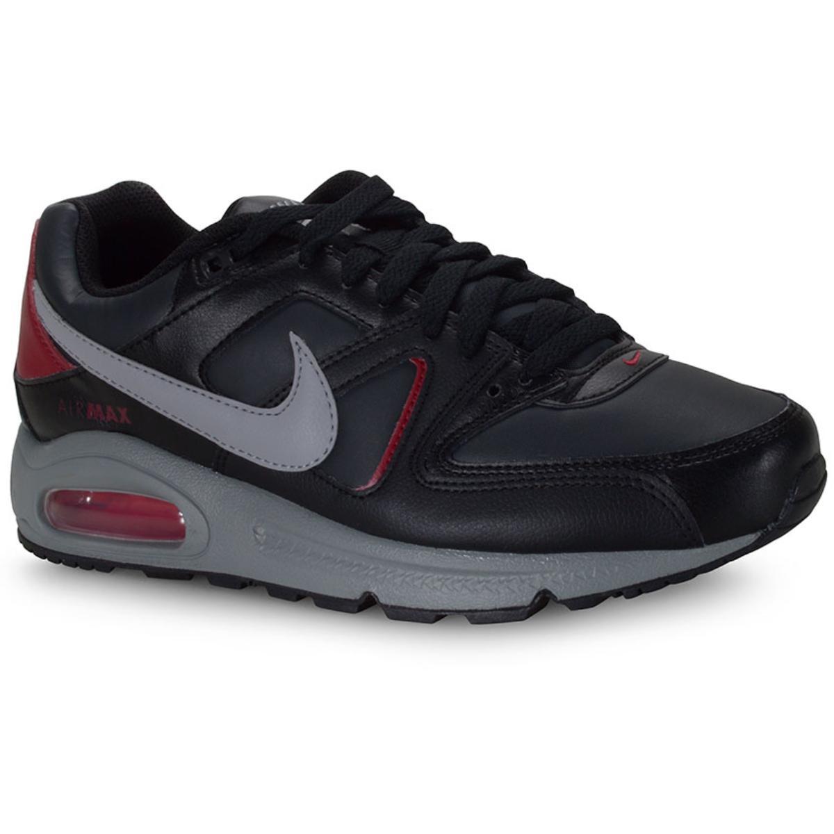 Tênis Masculino Nike Cd0873-001 Air Max Command Preto/vinho