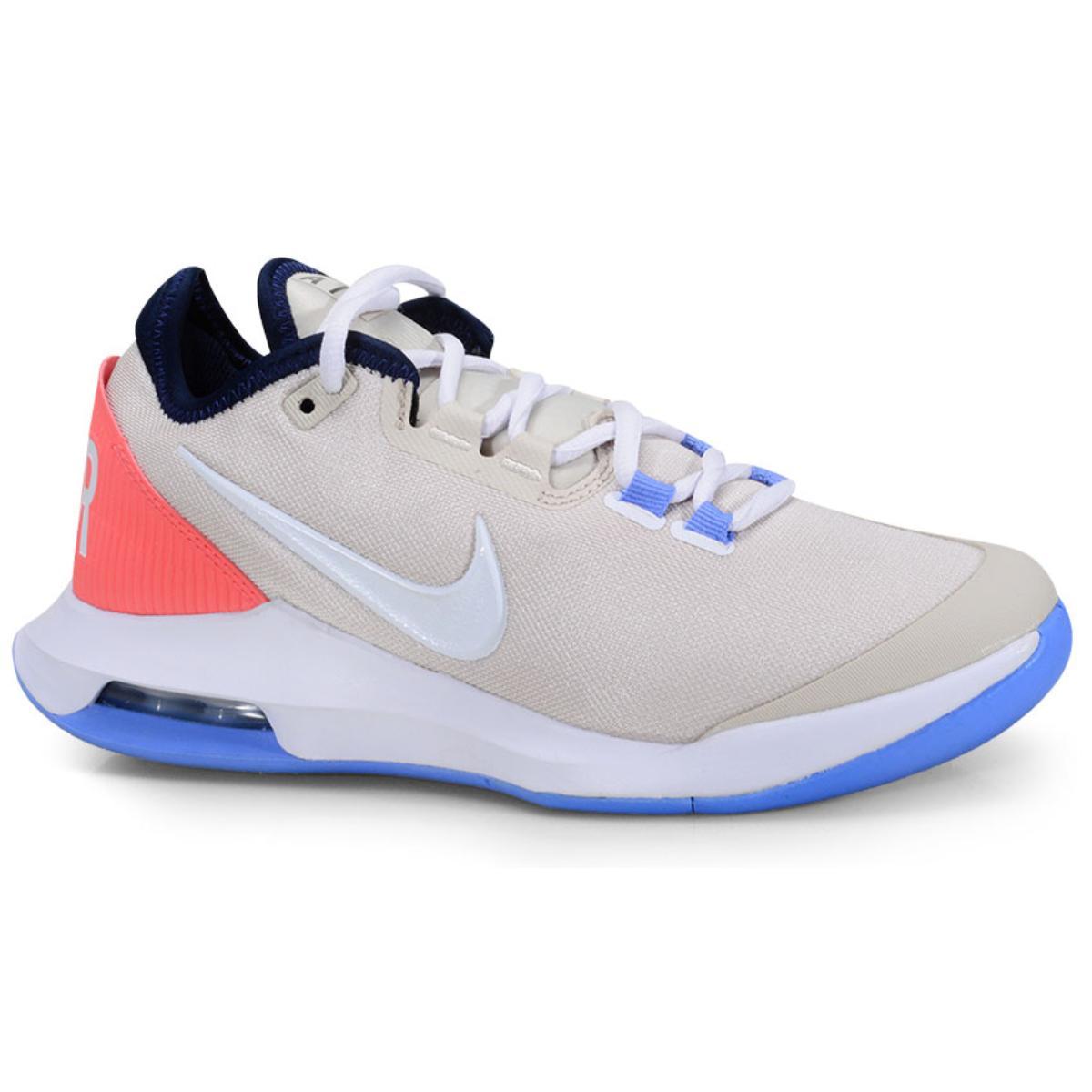 Tênis Feminino Nike Ao7353-102 Air Max Wildcard Bege/pêssego/azul