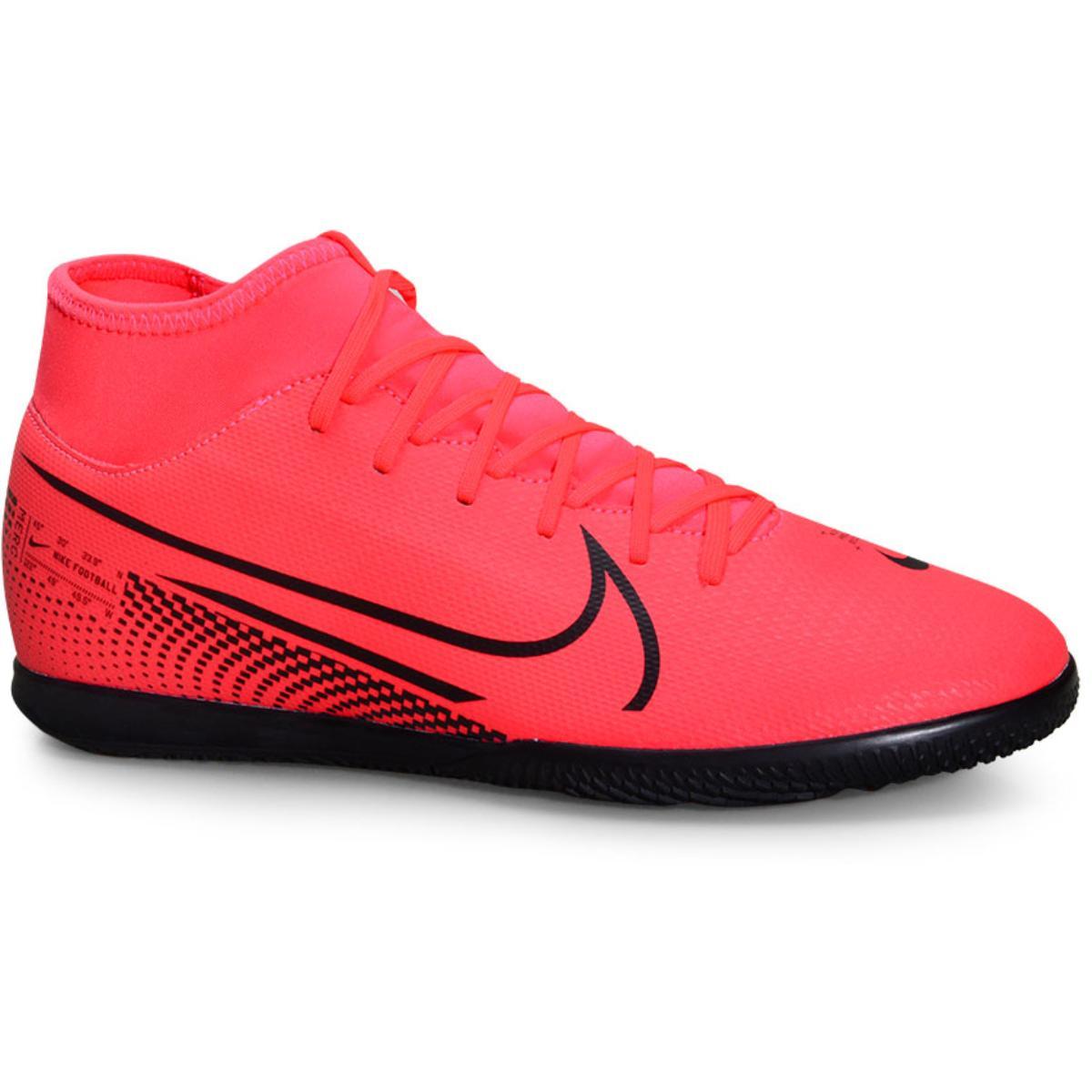 Tênis Masculino Nike At7979-606 Mercurial Superfly 7 Club ic Coral/preto