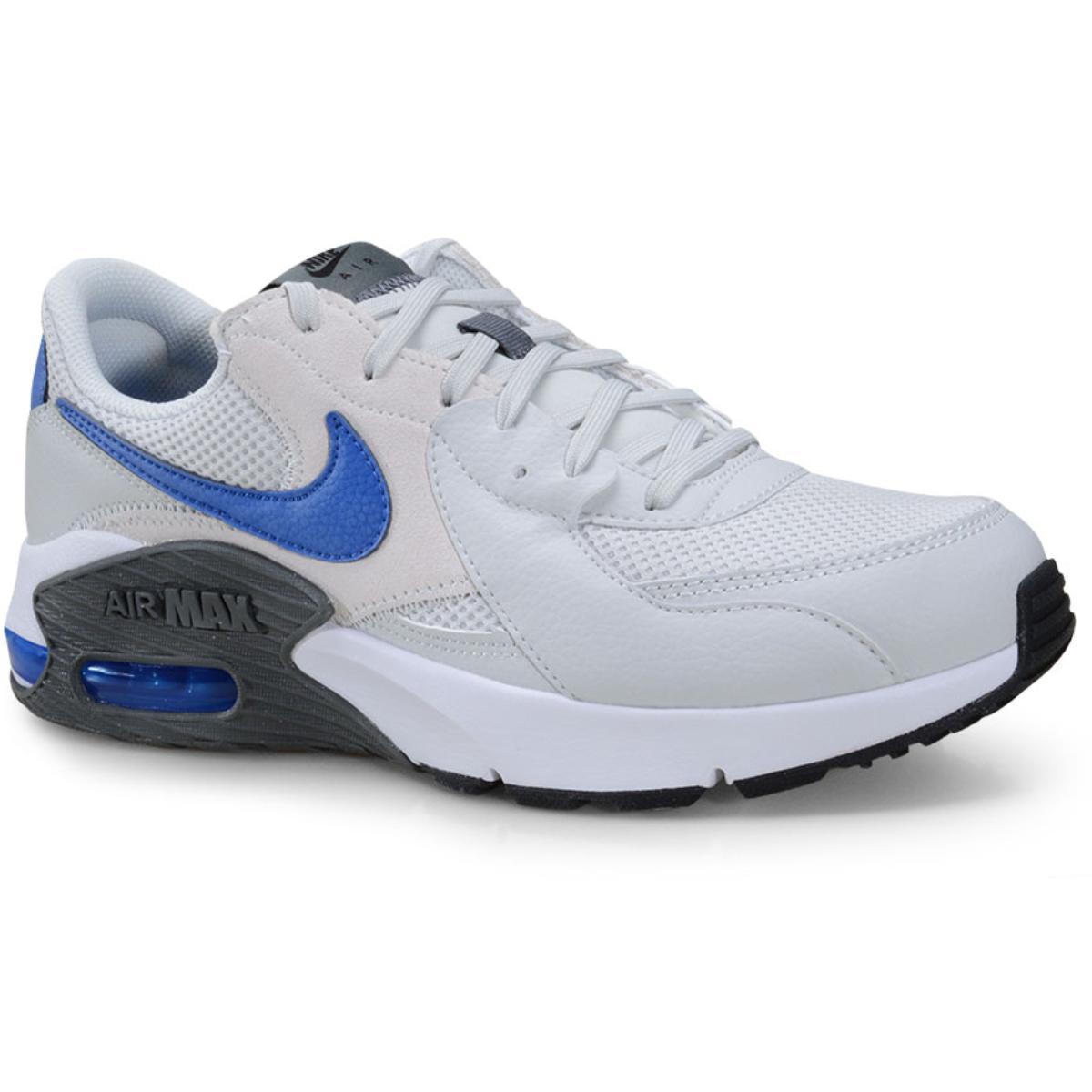 Tênis Masculino Nike Cd4165-007 Air Max Excee Cinza/azul