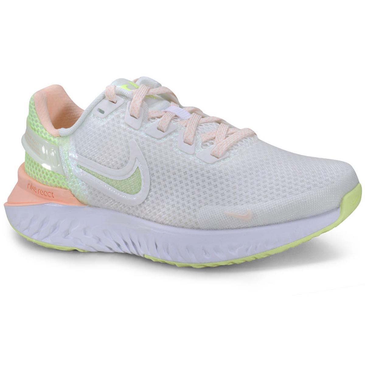 Tênis Feminino Nike Ck2562-100 Legend React 3 Branco/pêssego
