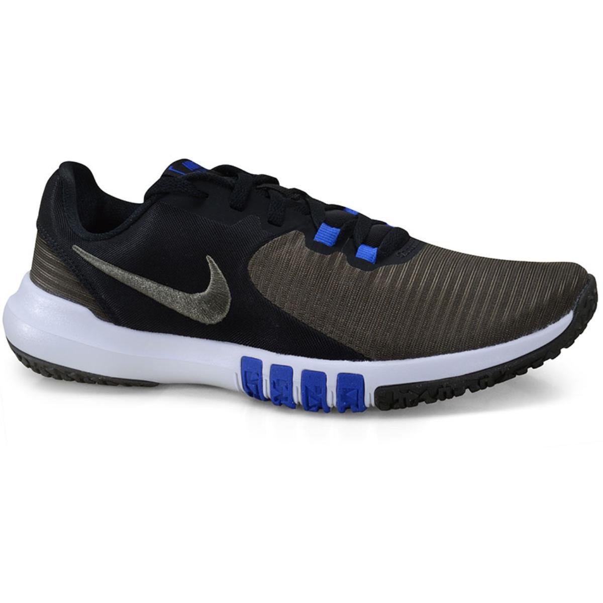Tênis Masculino Nike Cd0197-008 Flex Control Tr4 Preto/musgo/azul