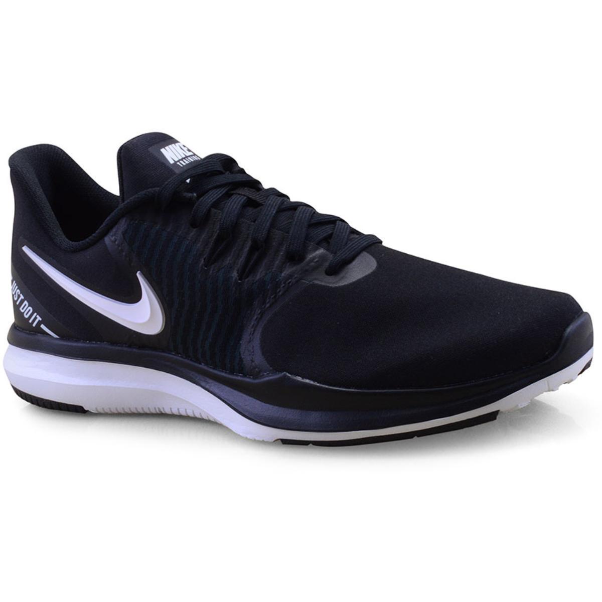 Tênis Feminino Nike Aa7773-001 in Season tr 8 Preto/branco