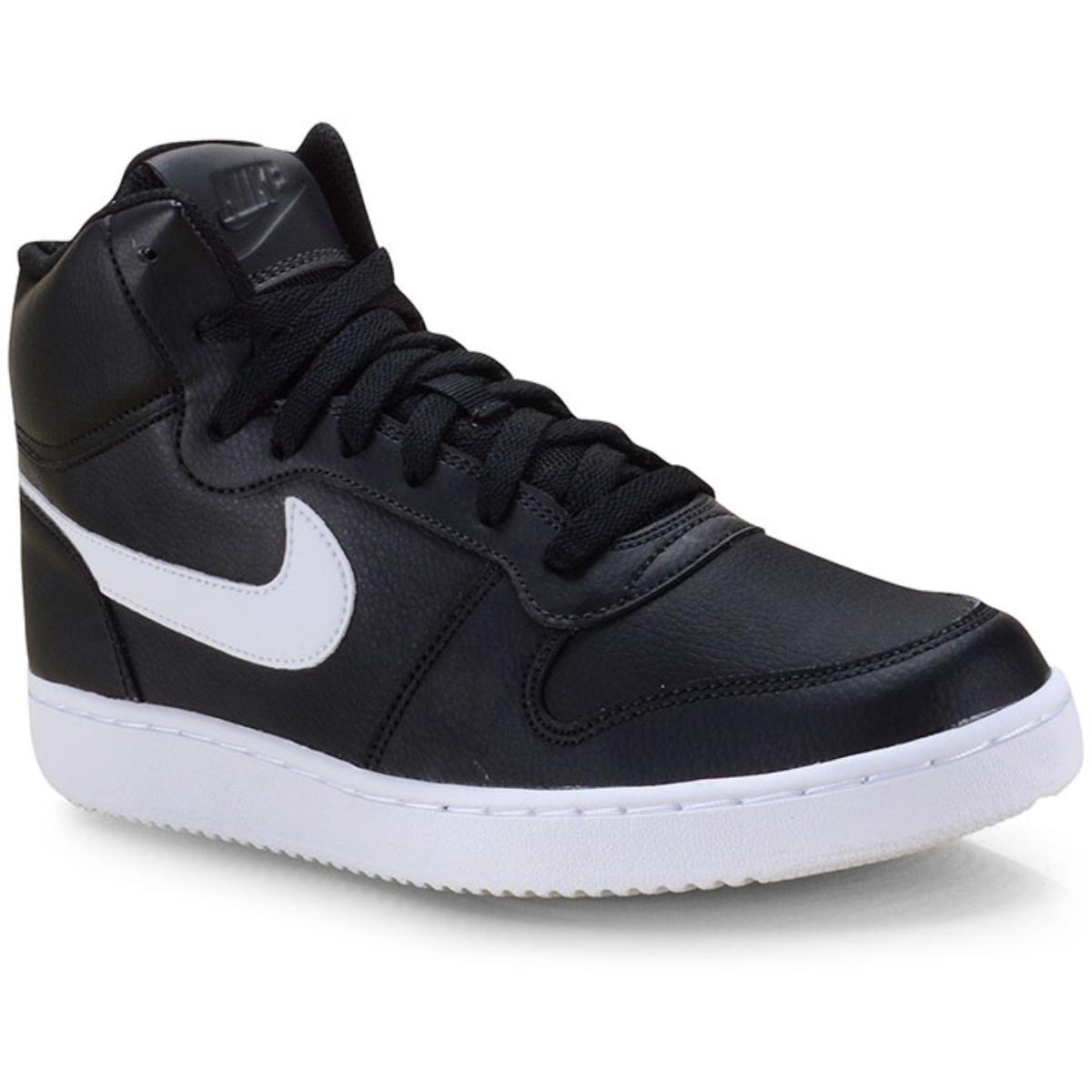 Tênis Unisex Nike Aq1773-002 Ebernon Mid Preto/branco