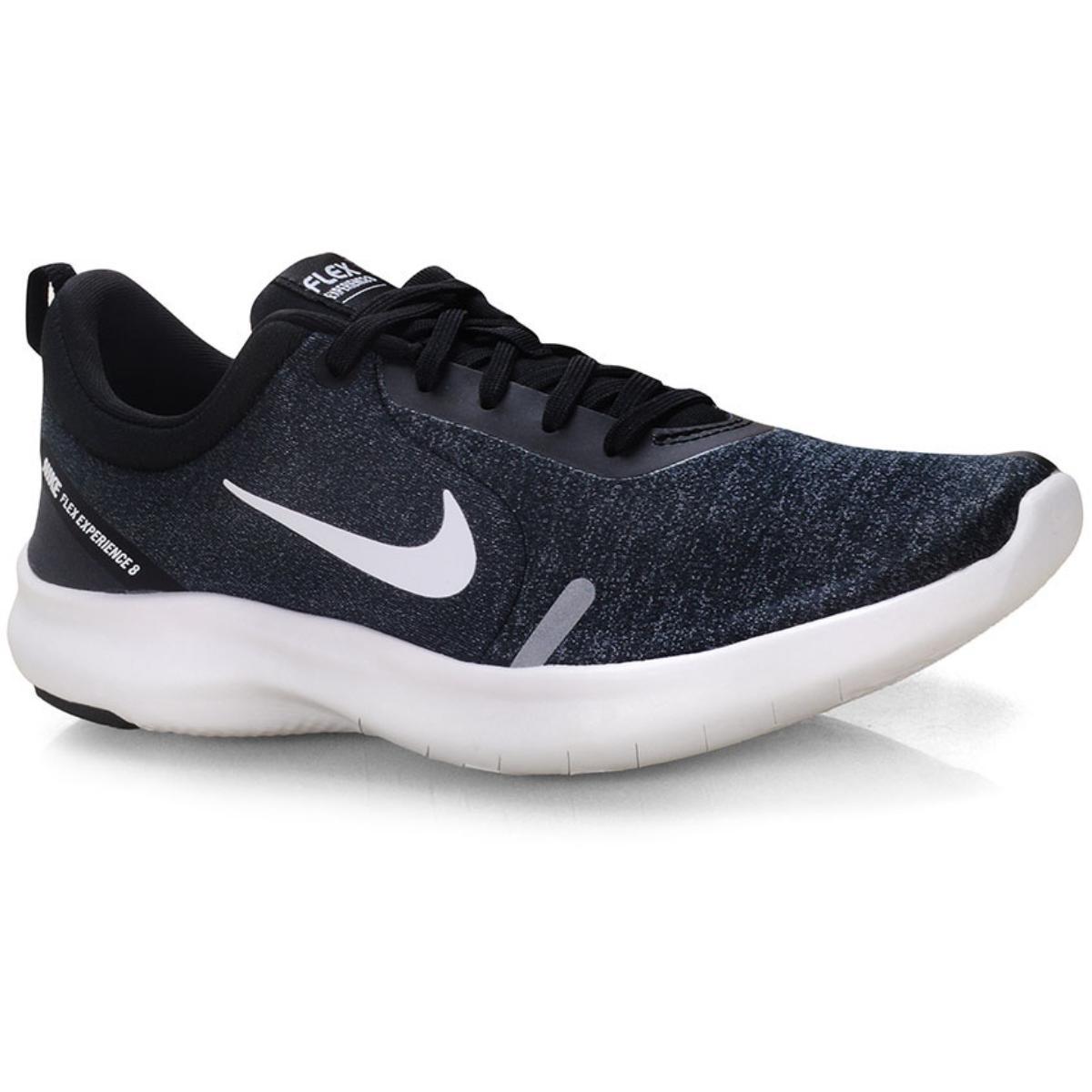 Tênis Feminino Nike Aj5908-013 Flex Experience rn 8 Preto/branco