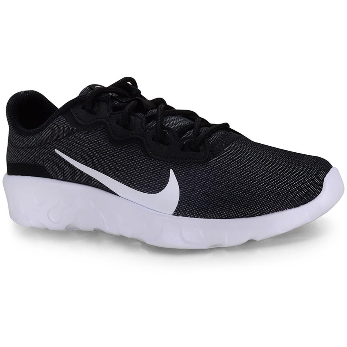 Tênis Masculino Nike Cd7093-001 Explore Strada Preto/branco