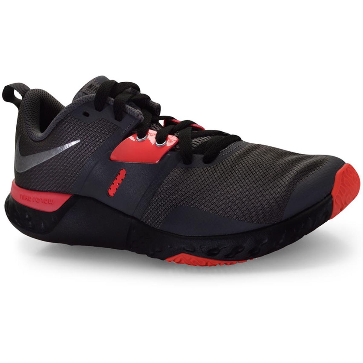 Tênis Masculino Nike At1238-006 Renew Retaliation tr Cinza/prata