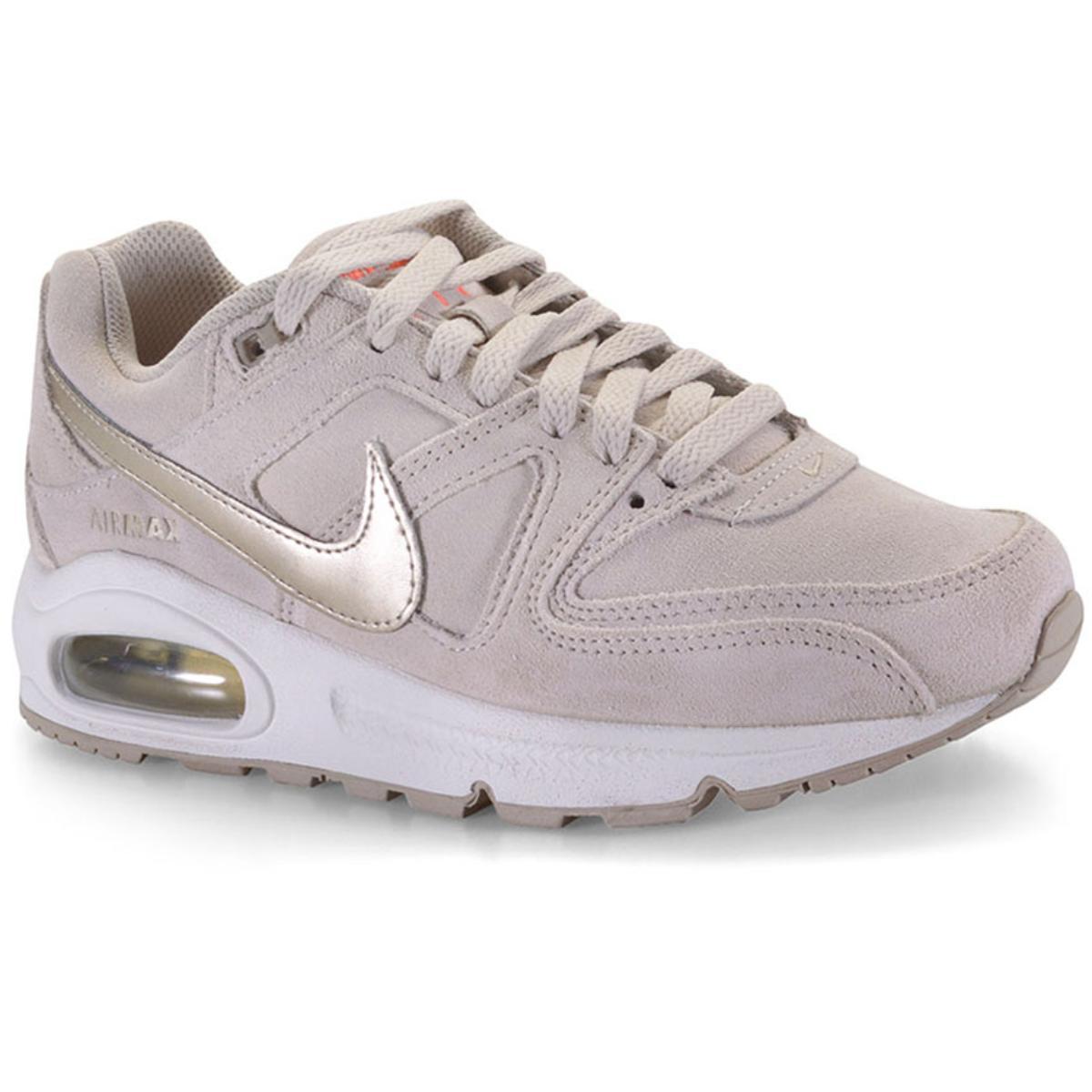 Tênis Feminino Nike 718896-228 Air Max Command Premium Bege