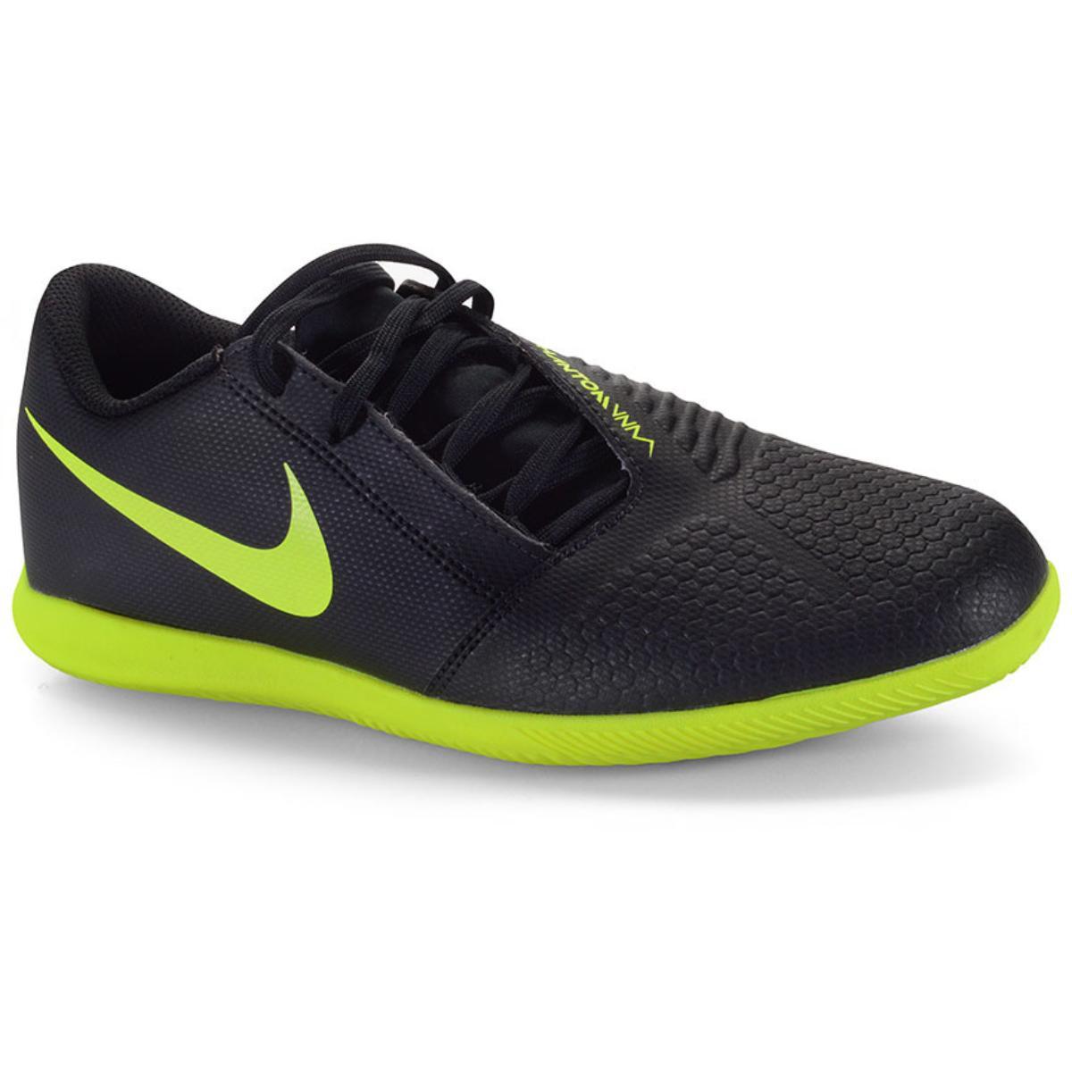 Tênis Masculino Nike Ao0578-007 Phanton Venom Club ic Preto/limão