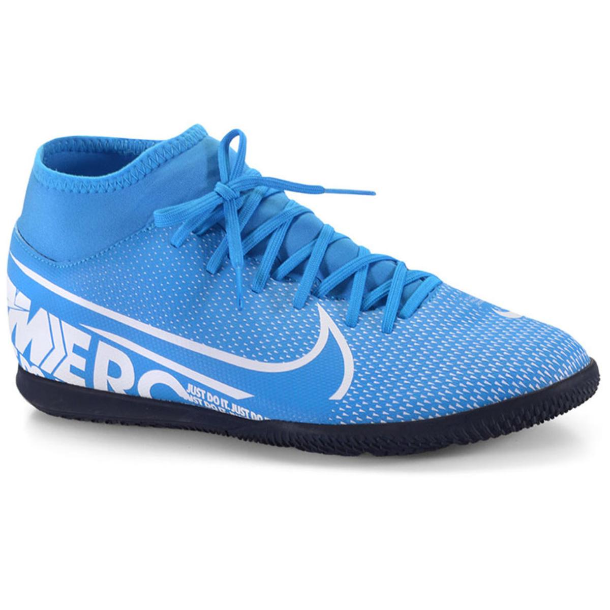 Tênis Masculino Nike At7979-414 Mercurial Superfly 7 Club Azul/branco