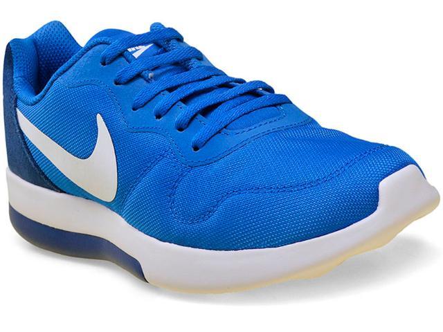 Tênis Masculino Nike 844901-400 md Runner 2 lw Shoe Azul/branco
