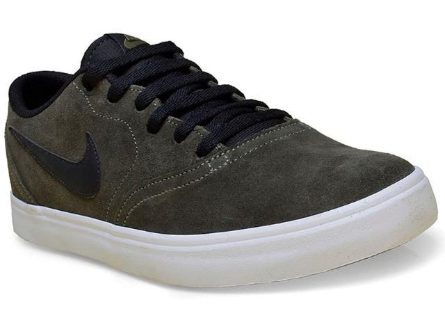 Tênis Masculino Nike 843895-300 sb Check Solar Verde Musgo