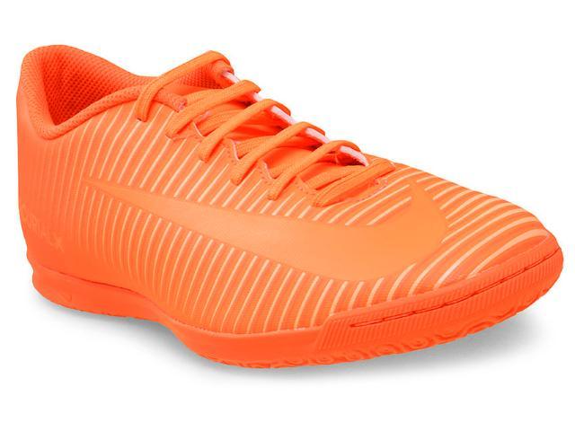Tênis Masculino Nike 831970-888 Mercurial Vortex Iii ic Laranja