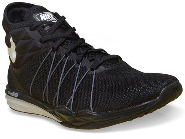 Tênis Feminino Nike 852442-001 Dual Fusion tr  Preto/branco