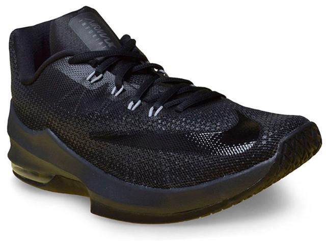 Tênis Masculino Nike 852457-001 Air Max Infuriate Low Preto