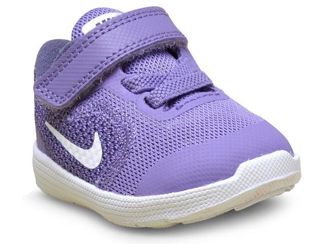 Tênis Fem Infantil Nike 819418-501 Revolution 3 Lilas