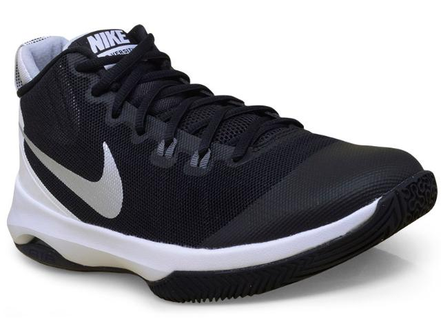 Tênis Masculino Nike 852431-001 Air Versatile Basketball  Preto/branco