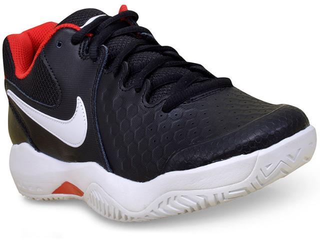 Tênis Masculino Nike 918194-001 Air Zoom Resistance Preto/branco/vermelho