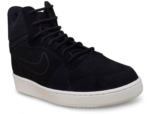 Tênis Masculino Nike 844884-007 Court Borough Mid Preto
