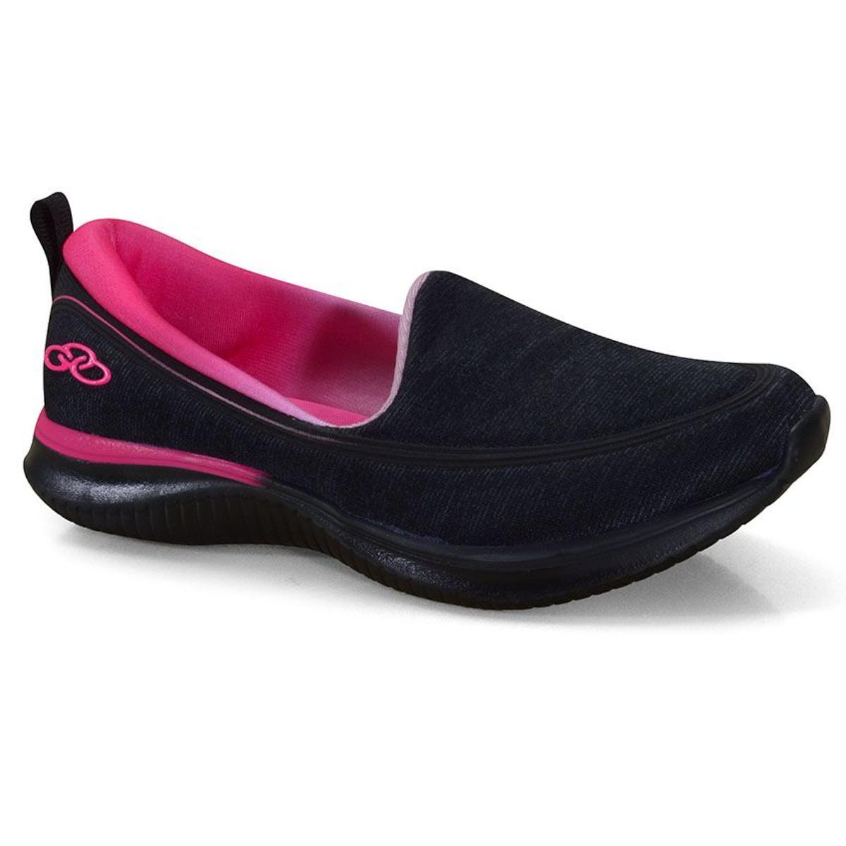 Tênis Feminino Olympikus Sunna 769 Preto/pink