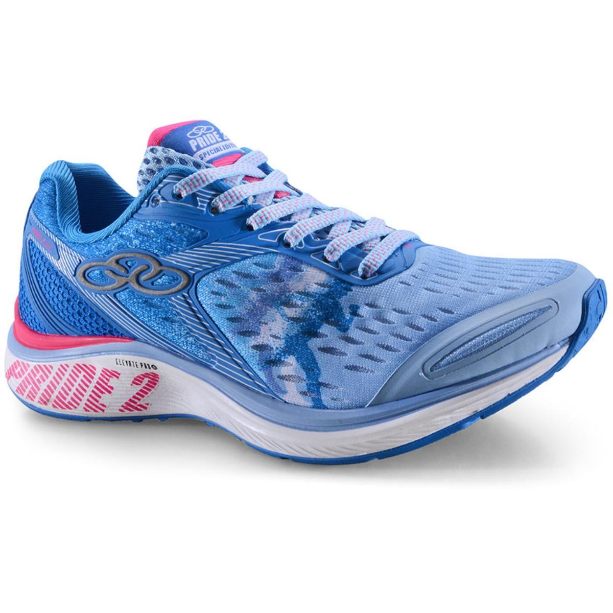 Tênis Feminino Olympikus Pride 2 597 Blue/pink