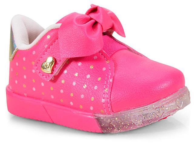 Tênis Fem Infantil Pampili 471.003 Pink Batom