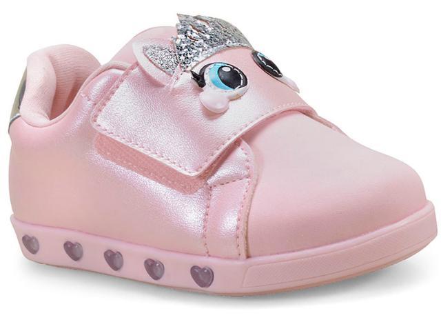 Tênis Fem Infantil Pampili 165.086 Rosa Glace
