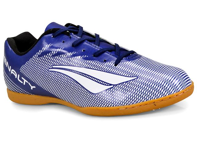 Tênis Masculino Penalty 1241516500 Futsal Stm Amazonas Viii Azul/branco