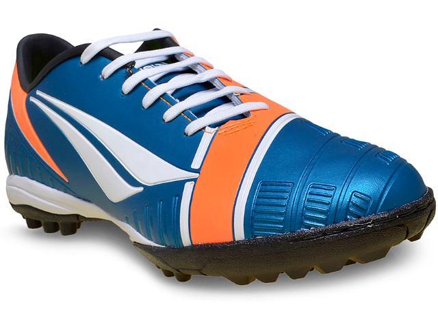 Tênis Masculino Penalty 24206270284 Digital vi Turquesa/laranja/branco