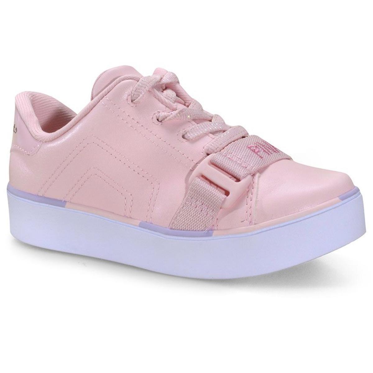 Tênis Feminino Pink Cats V1496 Rosa/camelia