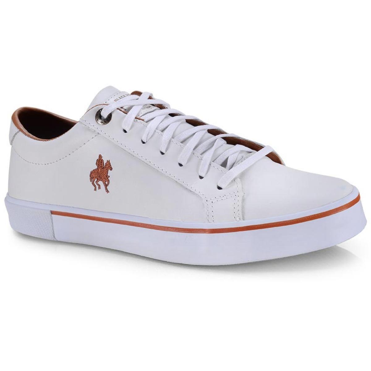 Tênis Masculino Polo Bhpf225 Branco