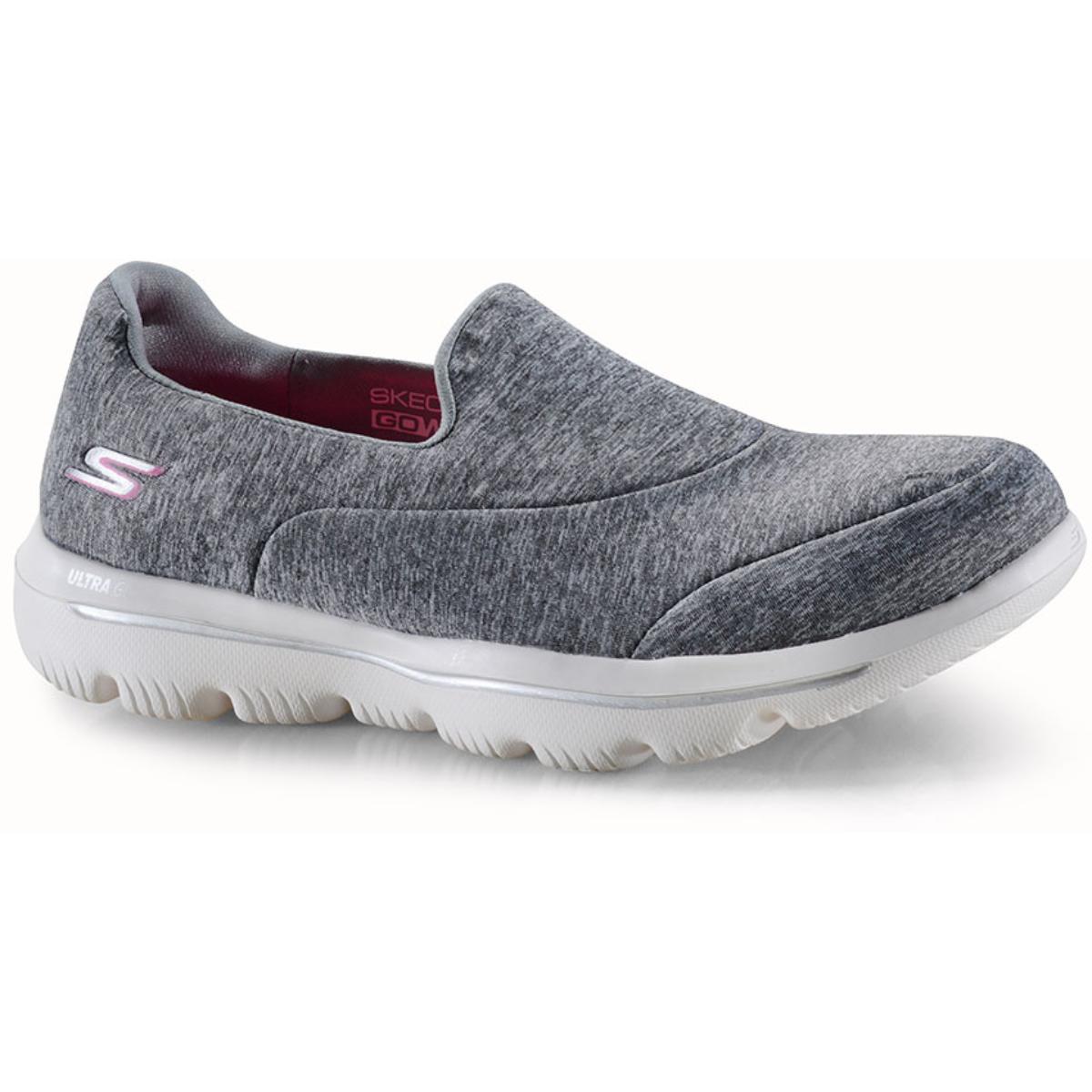 Tênis Feminino Skechers 15733 Gry go Walk Evolution Ultramaze Cinza