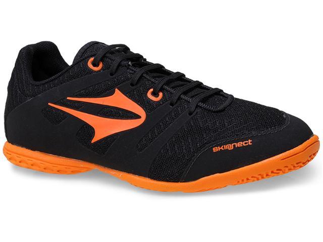 Tênis Masculino Topper 4134158 Top Letra Indoor  Preto/laranja