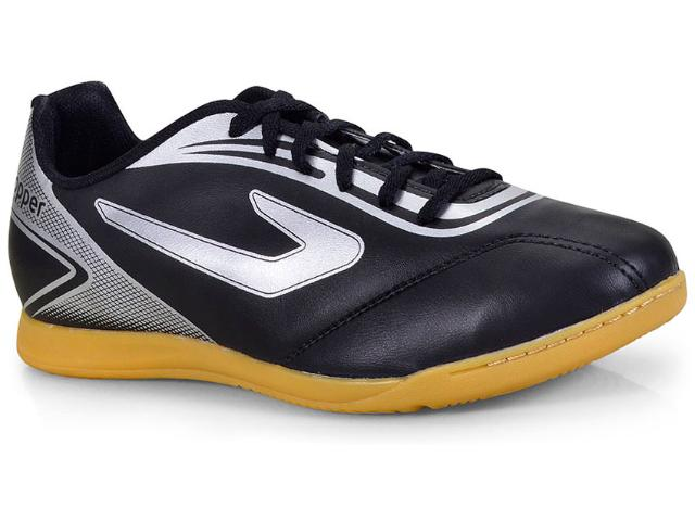 Tênis Masculino Topper 42013452976 Cup Indoor  Preto/prata