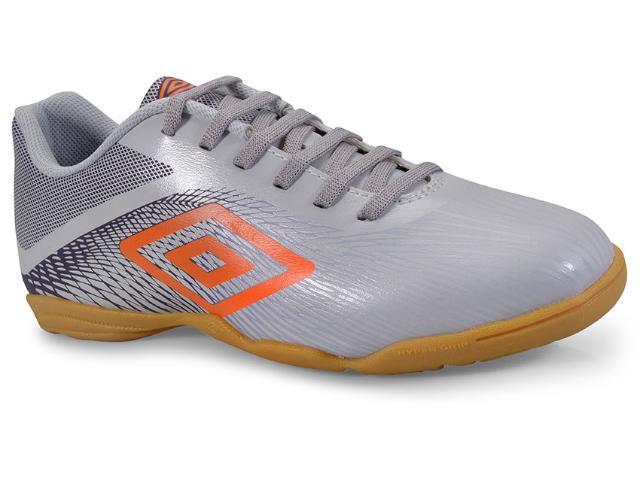 Tênis Masculino Of72084 806 Indoor Umbro Snake Prata/uva/laranja