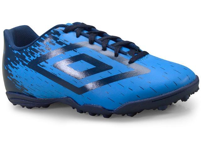 Tênis Masculino Umbro Of71084-337 Society Acid Azul/marinho