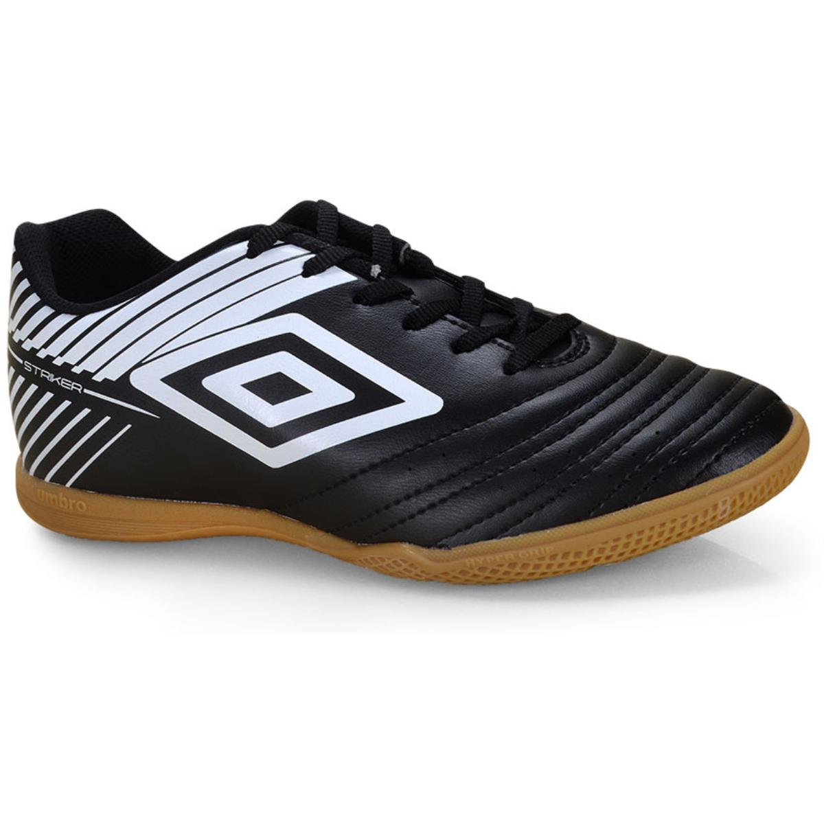 Tênis Masculino Of72124.112 Indoor Umbro Stricker v Preto/branco