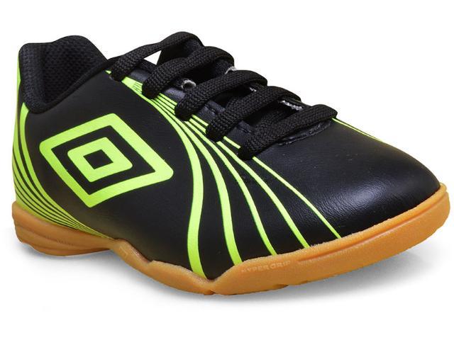 Tênis Masc Infantil Umbro Of82037 166 Footwear Sprint jr  Preto/limão