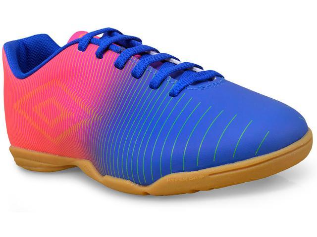 Tênis Masculino Umbro Of72086 306 Azul/rosa/limão