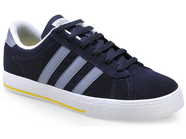 Tênis Masculino Adidas F39074 se Dayly v Sued Marinho/branco